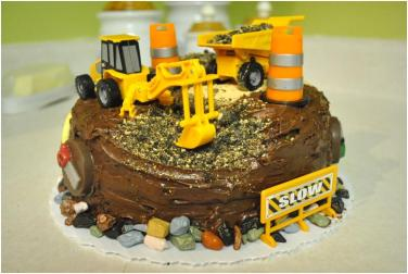 Terrific Construction Themed Birthday Cake Rolling Sin Sweets After Dark Funny Birthday Cards Online Elaedamsfinfo