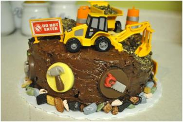Pleasant Construction Themed Birthday Cake Rolling Sin Sweets After Dark Funny Birthday Cards Online Elaedamsfinfo