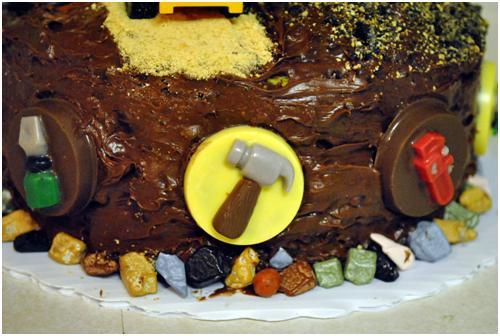 Caution Tape Cake