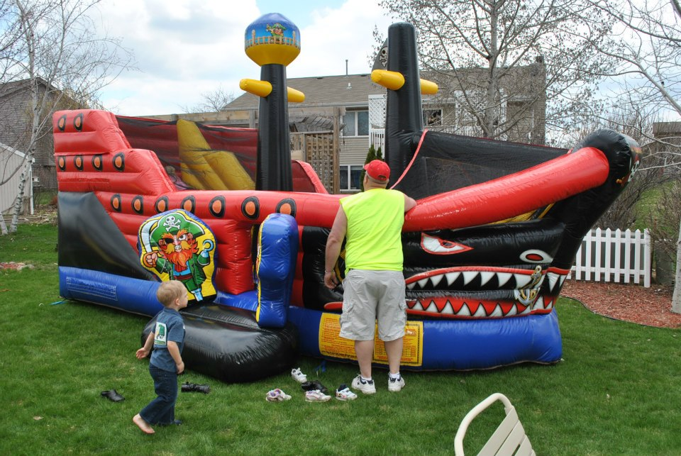 Kids Bounce House Party Spartanburd
