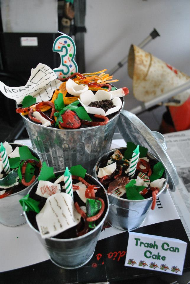 Garbage Truck Themed Birthday Party Rolling Sinsweets After Dark