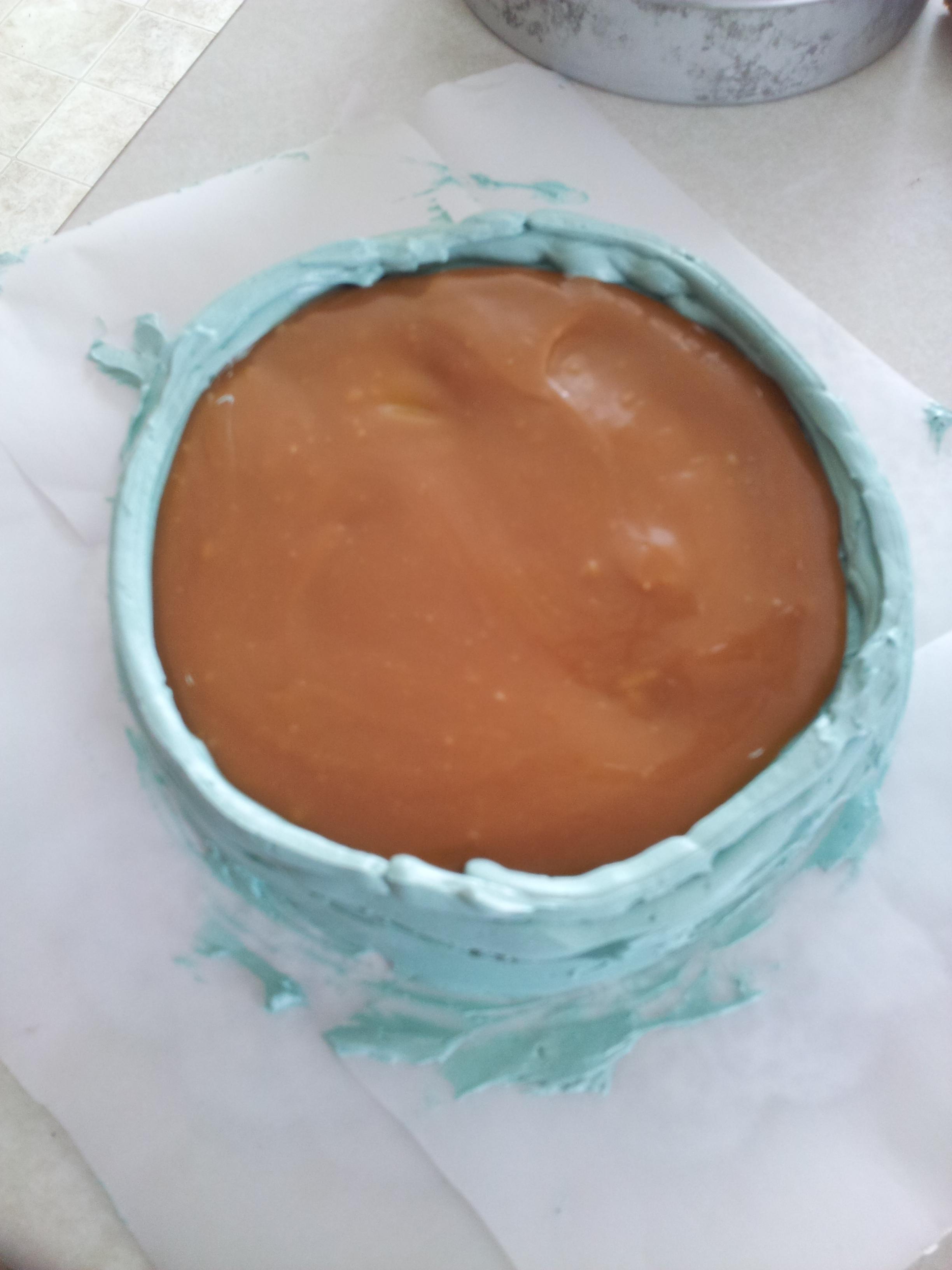 Round Christmas Cake Designs