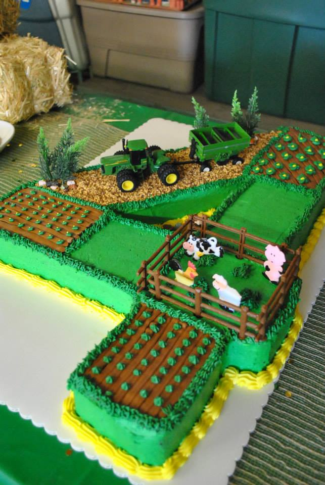 Wondrous John Deere Tractor Birthday Party Rolling Sin Sweets After Dark Funny Birthday Cards Online Fluifree Goldxyz