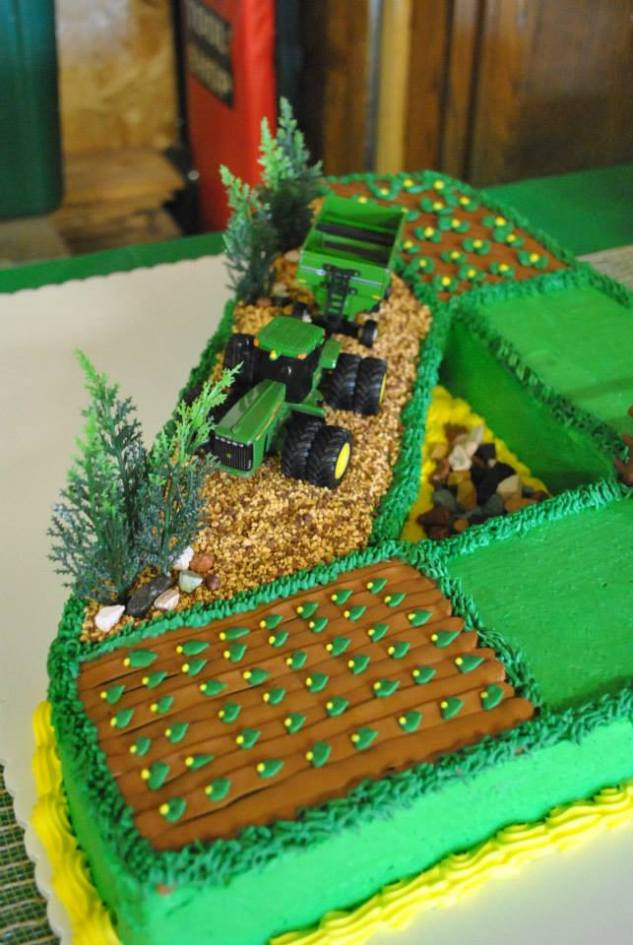 Tractor Birthday Cake Ideas