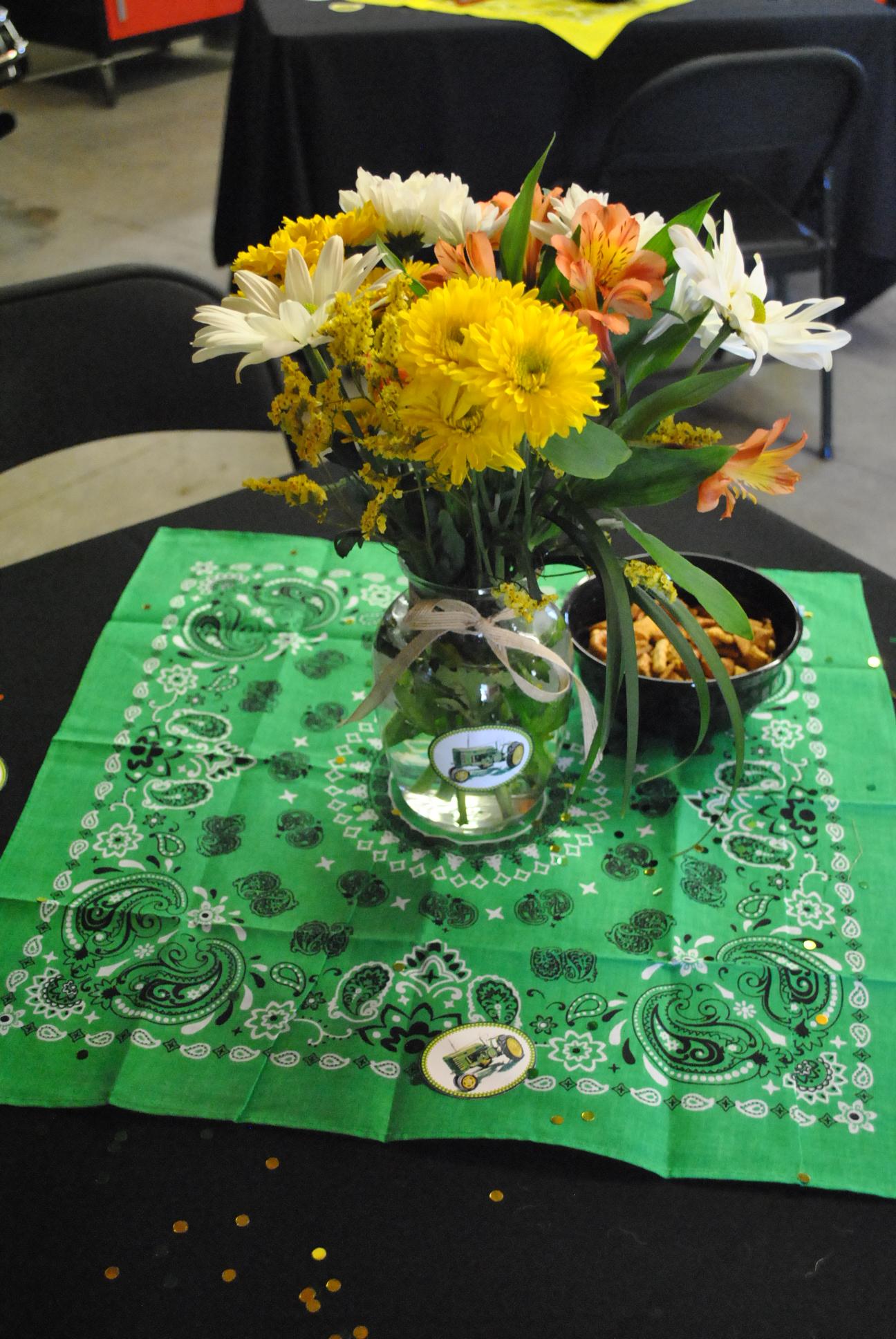 John Deere Tractor Birthday Party Rolling Sin Sweets